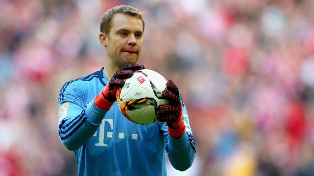 Nationaltorwart Neuer wieder im Bayern-Training