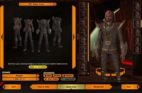 Star Trek Online's character creator revamped for Legacy of Romulus