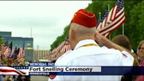 Thousands Gather To Commemorate Memorial Day At Fort Snelling