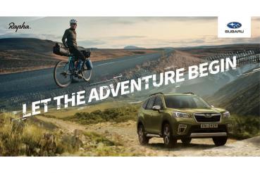 SUBARU與英國倫敦自行車服飾品牌Rapha®首度合作,創造舒適高質感的行車體驗!