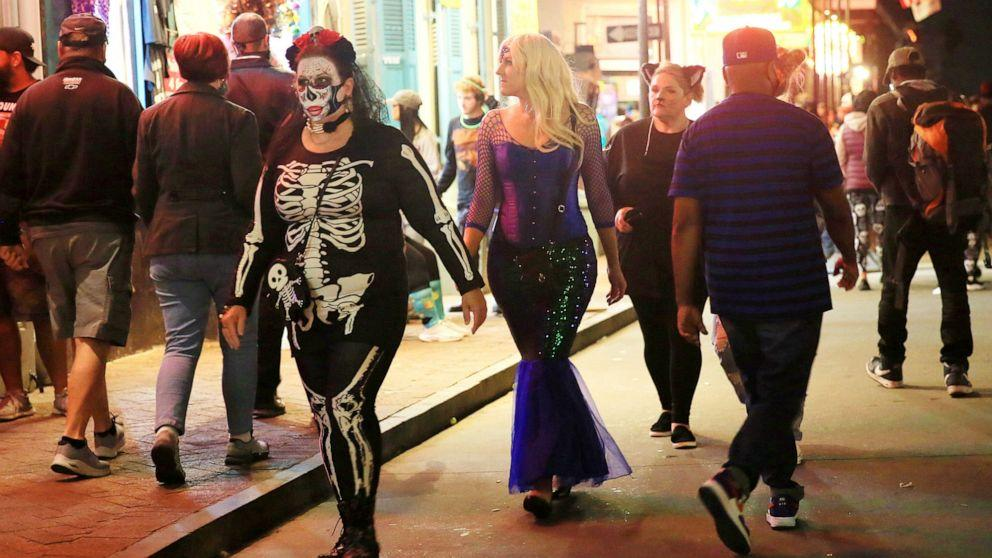 Halloween gatherings cited by authorities as leading to COVID-19 outbreaks