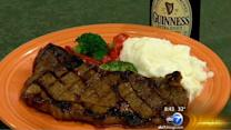 Guinness Steak for St. Patrick's Day for 'Let's Dish'