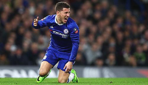 Premier League: Chelsea-Trainer Conte: Mache mir keine Sorgen um Hazard
