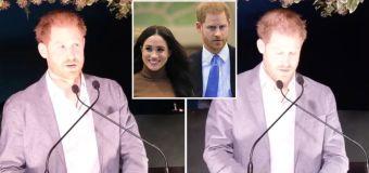 Prince Harry addresses Megxit in speech