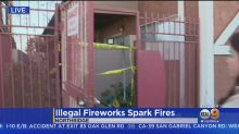 'I Lost Everything': Illegal Fourth Of July Fireworks Display Destroys 8 Apartments In Northridge