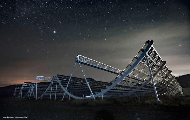 Canada's new radio telescope starts mapping the universe