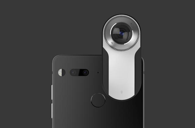 Essential Phone sends 360-degree live video to Facebook and YouTube