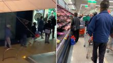 'I feel sad watching this': Wild scenes at Woolworths as elderly queue at dawn