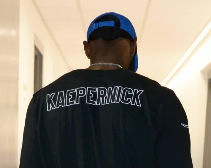 f8302143422b LeBron James rocks Nike Colin Kaepernick shirt before preseason game ...