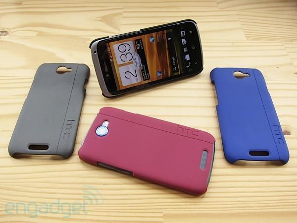 HTC launches kickstand-tastic One S cases, we go hands-on