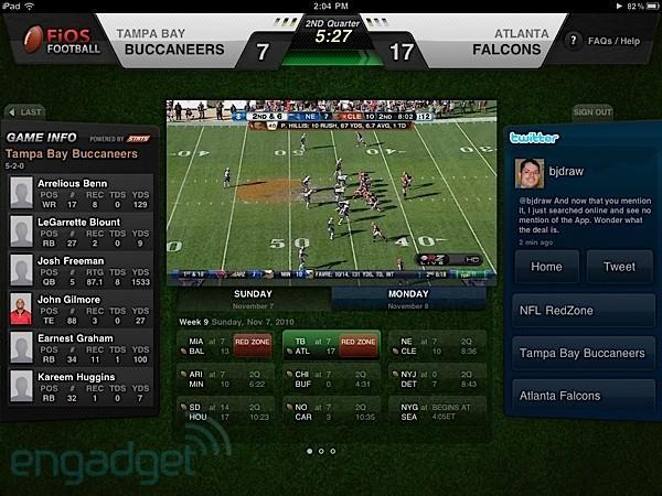 Verizon's RedZone Channel-streaming FiOS Football app for iPad shows up on iTunes (again)