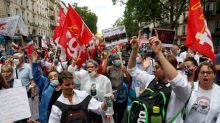 Des milliers de manifestants dans plusieurs villes de France pour l'hôpital public