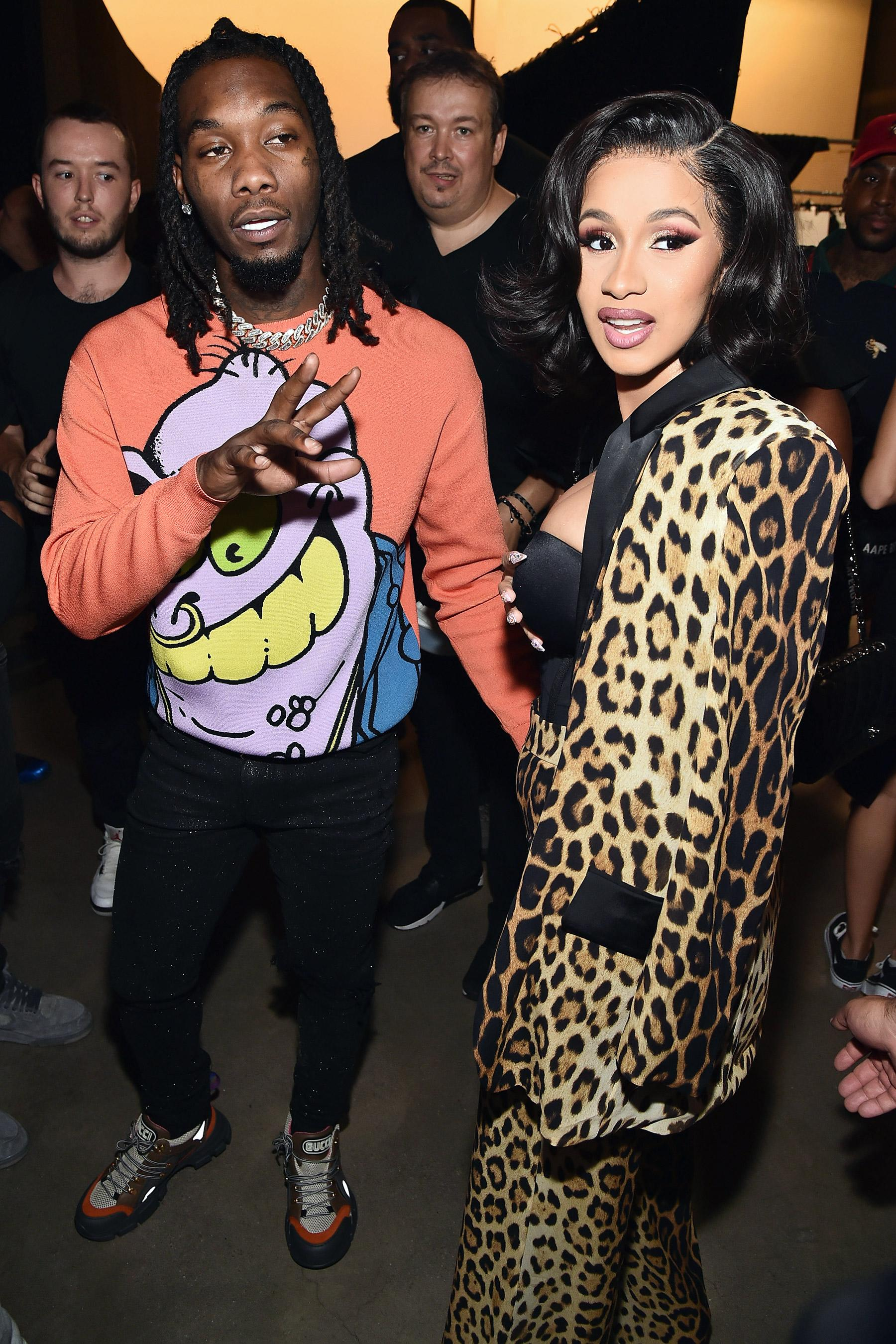Cardi B Says Offset Picked Their Baby S Almost Tricky: 'Wiser' Cardi B Opens Up About Offset Split: I'm Not Doing