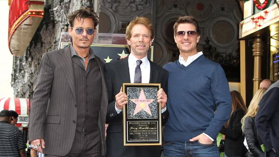 Jerry Bruckheimer Gets His Star On The Hollywood Walk Of Fame
