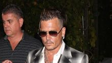 Johnny Depp Has Golden Tan and Fresh Mohawk While Out With Kids Amid Divorce Drama