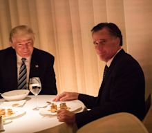 Profiles in expediency: 'Dumb' Romney welcomes endorsement of 'con man' Trump
