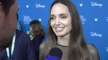 Angelina Jolie on going 'full crazy' in 'Maleficent 2' and why she entered the Marvel Cinematic Universe