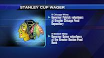 Gov. Quinn and Massachusetts Gov. Patrick wager on Stanley Cup