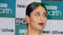 Does Kareena look like she enjoys watching nature shows on TV?