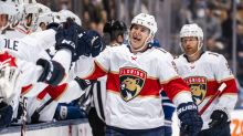 Panthers' Pysyk switches from defence to forward, crushes Leafs with hat trick
