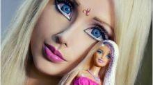 Barbie humana finalmente mostra seu rosto sem maquiagem