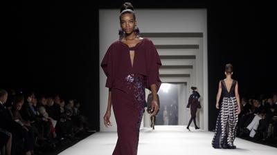 Herrera Takes on New Proportions at NYFW