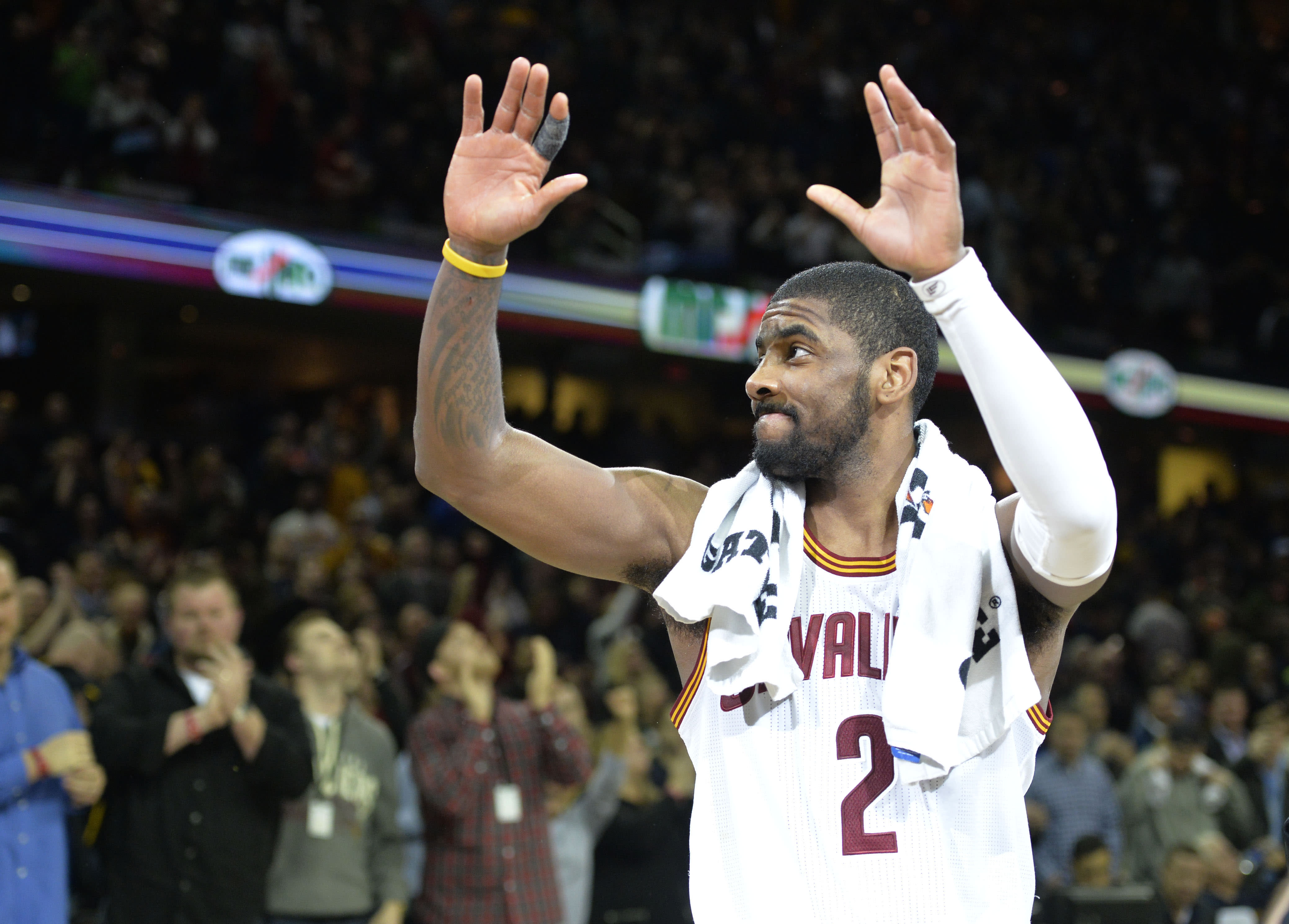 Kyrie Irving scores career NBA season high 55 points to lead