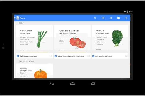 Google releasing standalone mobile apps for editing docs, spreadsheets and presentations