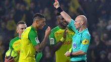 'Kicking' ref Chapron apologises and admits red card for Nantes player was wrong
