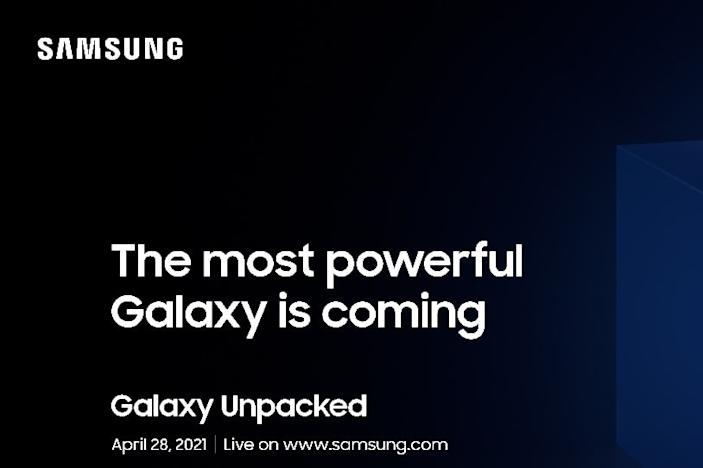 Samsung is hosting yet another Unpacked event on April 28th