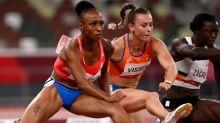 Jasmine Camacho-Quinn, sister of Robert Quinn, sets Olympic record in 100M hurdles