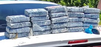 Wildlife manager finds $1.2M worth of cocaine