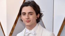 Timothée Chalamet's White Oscars Tux