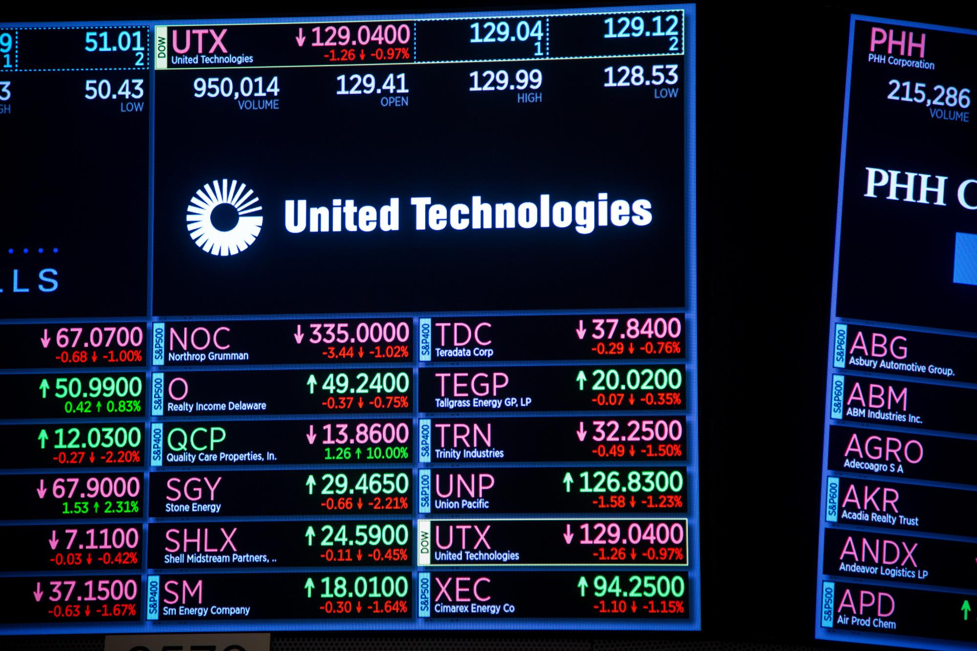 News post image: United Technologies Credit Rating Cut by S&P After Breakup Plan