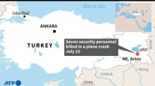 Seven Turkish security personnel killed in reconnaissance plane crash