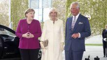 Prinz Charles und Herzogin Camilla treffen Angela Merkel