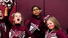 When A Middle School Cheerleader With Down Syndrome Was Bullied, The Basketball Team Stepped Up To Defend Her