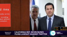 Rep. Devin Nunes is filing a lawsuit against Twitter