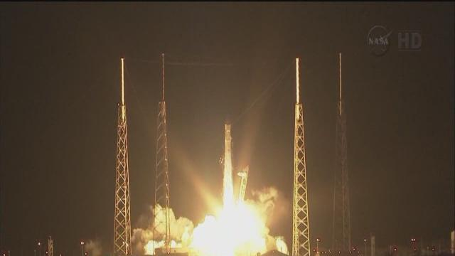SpaceX rocket to head to space station
