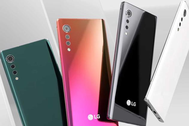 LG offers first clear look at its premium Velvet phone