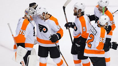 NHL roundup: Flyers, Knights secure top seeds