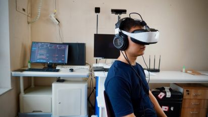 How AI-backed virtual reality experience is helping drug addicts stay clean