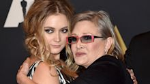 Billie Lourd marks Carrie Fisher's birthday with sweet throwback photo
