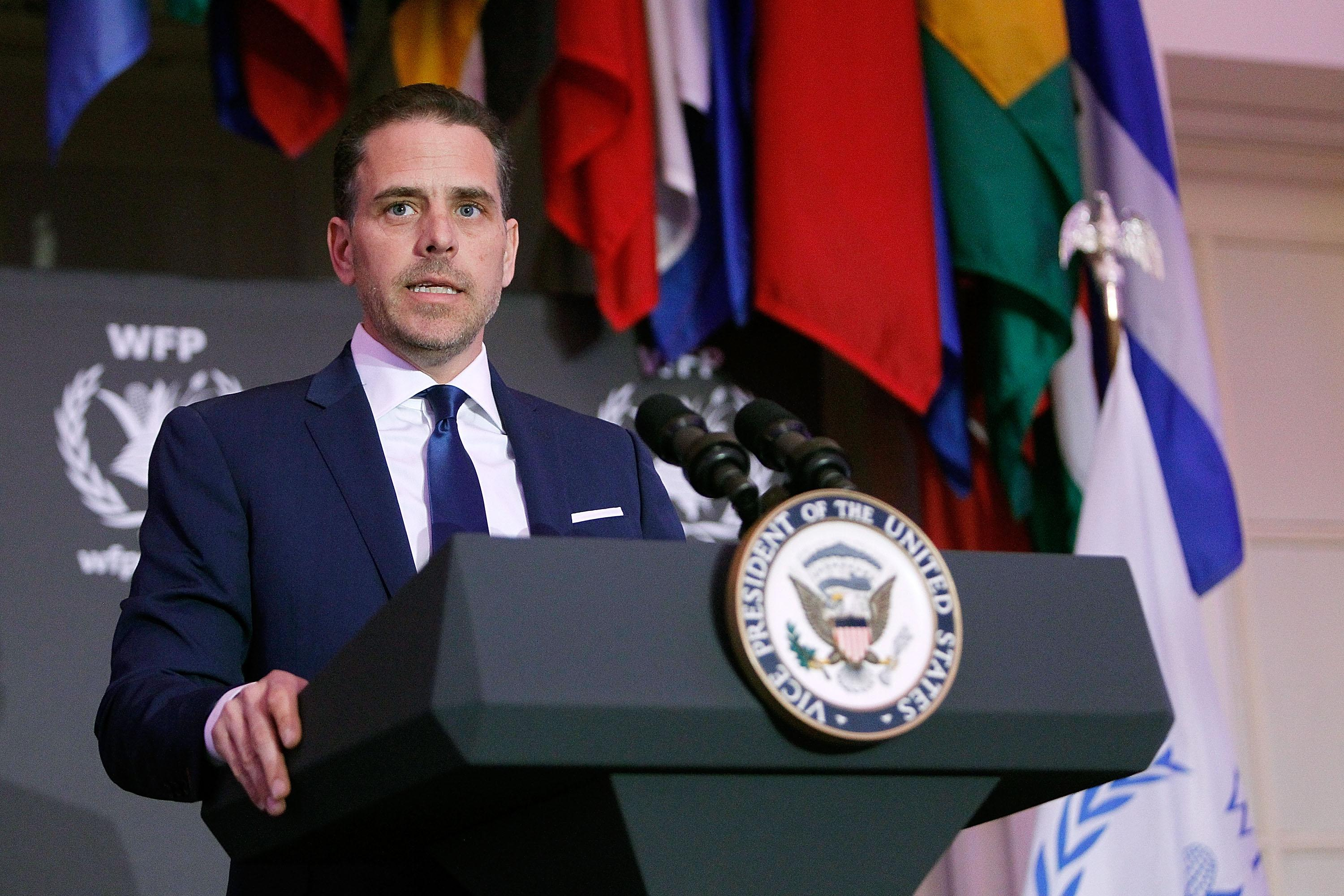 Joe Biden's son Hunter stepping down from Chinese board