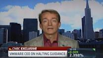 VMware CEO: Halting guidance