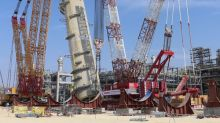 Sinopec Debuts World's Largest Crawler Crane in Saudi Arabia