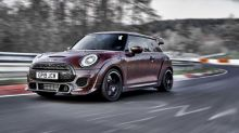 2020 Mini John Cooper Works GP appears to have its Nurburgring time on the dashboard