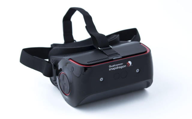 Qualcomm adds Tobii's eye-tracking tech to its mobile VR kit