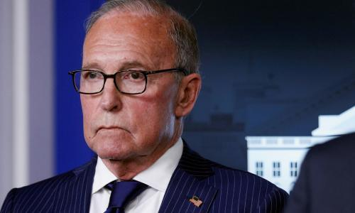 Fox News hires Trump economic adviser Larry Kudlow to host show