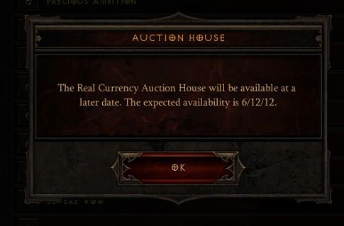 Authenticator now required for Diablo's Real-Money Auction House